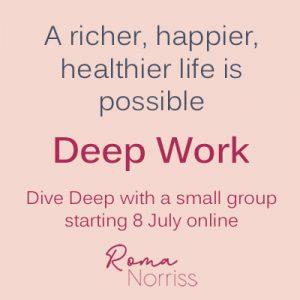 Deep Work 6 month programme